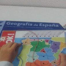 Juegos educativos: ELECTRON GEOGRAFIA DE ESPAÑA DISET MUY NUEVO FUNCIONA. Lote 112664647