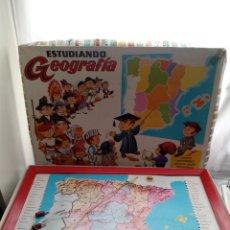 Juegos educativos: JUEGO ESTUDIANDO GEOGRAFIA MASSANA. Lote 112766923
