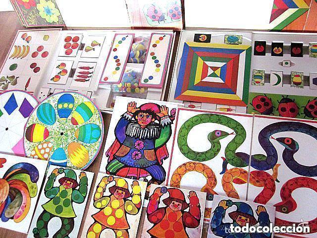 Juegos educativos: Dos Antiguos Juegos Educativos Okapi 1 y Okapi 2 1976 - 1977 Juegos para niños de preescolar - Foto 2 - 112855183