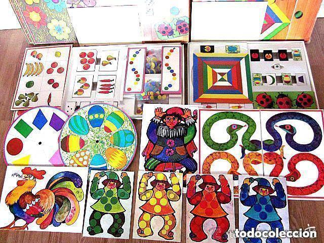Juegos educativos: Dos Antiguos Juegos Educativos Okapi 1 y Okapi 2 1976 - 1977 Juegos para niños de preescolar - Foto 5 - 112855183