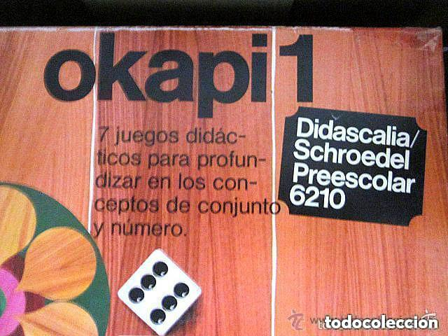 Juegos educativos: Dos Antiguos Juegos Educativos Okapi 1 y Okapi 2 1976 - 1977 Juegos para niños de preescolar - Foto 6 - 112855183