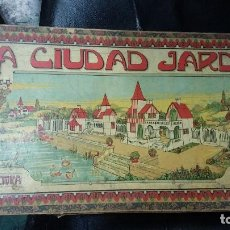 Juegos educativos: LA CIUDAD JARDIN ( ARQUITECTURA 2 SERIES ). Lote 112865963