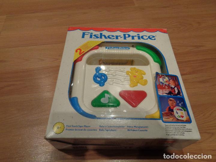 FISHER PRICE MI PRIMER CASSETTE VINTAGE (Juguetes - Juegos - Educativos)