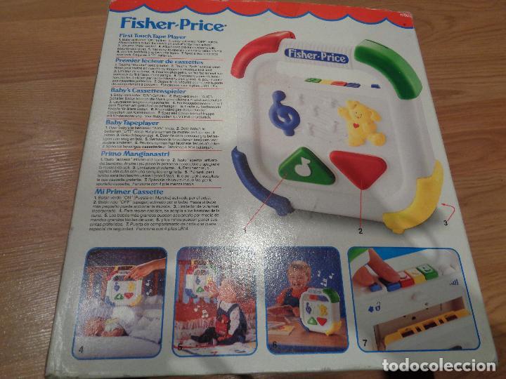 Juegos educativos: FISHER PRICE MI PRIMER CASSETTE VINTAGE - Foto 3 - 113116331