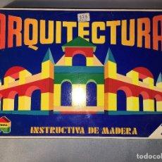Juegos educativos: ARQUITECTURA DE MADERA DE JUPDOSA JUP - NUEVO. Lote 113524075