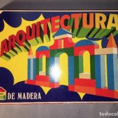 Juegos educativos: ARQUITECTURA DE MADERA DE JUPDOSA JUP - NUEVO. Lote 113524643