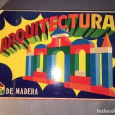 Juegos educativos: ARQUITECTURA DE MADERA DE JUPDOSA JUP - NUEVO. Lote 113524691