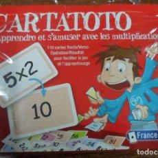 Juegos educativos: BARAJAS CARTAS PARA APRENDER A MULTIPLICAR FRANCE CARTES CARTATOTO. Lote 113648251