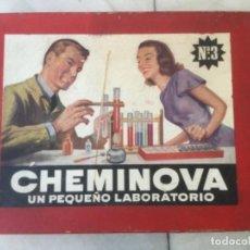Juegos educativos: CHEMINOVA N* 3. UN PEQUEÑO LABORATORIO. AÑOS 50. Lote 114341303