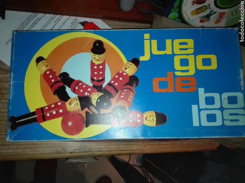 JUEGO DE BOLOS CONSTANSO TORNERIA (Juguetes - Juegos - Educativos)