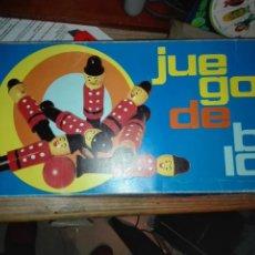 Juegos educativos: JUEGO DE BOLOS CONSTANSO TORNERIA. Lote 112457884