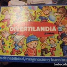Juegos educativos: EDUCA DIVERTILANDIA JUNIOR 1976 - DE TIENDA PRECINTADO !!! IMPECABLE. Lote 114495335