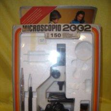 Juegos educativos: MICROSCOPIO 2002, 150 AUMENTOS, AÑOS 70, REF 48657, NUEVO.. Lote 115219439