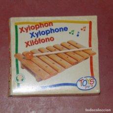 Juegos educativos: XILÓFONO MADERA. SIN ESTRENAR Y CON CAJA.. Lote 115415411