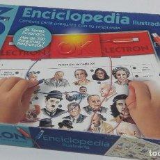 Juegos educativos: LECTRON PERSONAJES DEL SIGLO XX. Lote 115746167