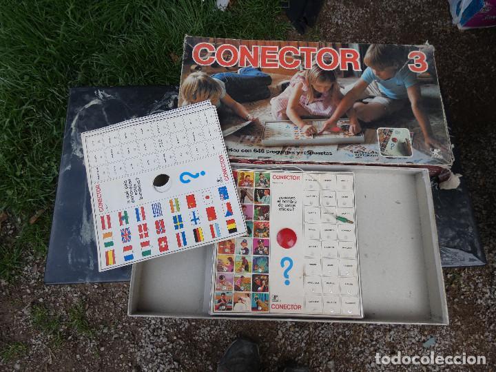LEER DESCRIPCION JUEGO DE MESA AÑOS 70 CONECTOR 3 (Juguetes - Juegos - Educativos)