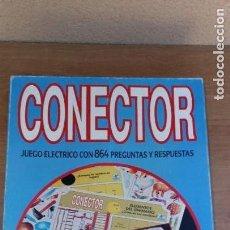 Juegos educativos: JUEGO DE PREGUNTAS CONECTOR 3 DE BORRAS COMPLETO FUNCIONANDO. Lote 116804651