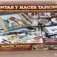 Juegos educativos: PINTAR Y HACER TAPICES DE MEDITERRANEO. Lote 116804959