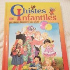 Juegos educativos: LIBRO CHISTES INFANTILES LOS MEJORES 200 CHISTES PARA NIÑOS. Lote 116872998