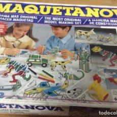 Juegos educativos: MAQUETANOVA,MEDITERRANEO. Lote 127936562
