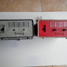 Juegos educativos: SCALEXTRIC, 2 TRANSFORMADORES RECTIFICADORES TRIANG SCALEXTRIC TR-1, AÑOS 70, ÁMBOS USADOS. Lote 117809663