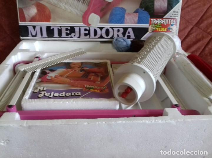 Juegos educativos: Tejedora Feber - Foto 4 - 118092567
