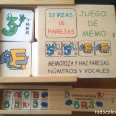 Juegos educativos: JUEGOS DE MADERA INFANTILES. Lote 118146455