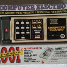 Juegos educativos: COMPUTER ELECTRO - EL JUEGO DE LAS 1001 PREGUNTAS; DISET. Lote 118218331