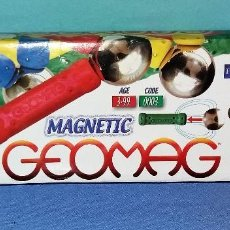 Juegos educativos: JUEGO MAGNETICO GEOMAG 20 MAGENTIC THE ORIGINAL. Lote 139368189