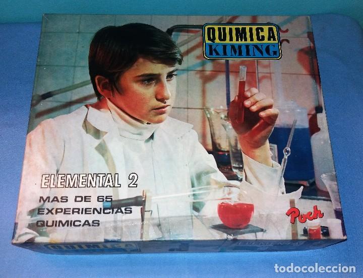 JUEGO QUIMICA KIMING AÑOS 70 A ESTRENAR (Juguetes - Juegos - Educativos)