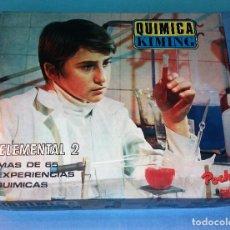 Juegos educativos: JUEGO QUIMICA KIMING AÑOS 70 A ESTRENAR. Lote 118462827