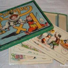 Juegos educativos: ANTIGUO Y VINTAGE - AÑOS 30 / 40 - JUEGO DE MESA - LUSTIGES EINMALEINS - MADE IN GERMANY - HAZ OFERT. Lote 119229631