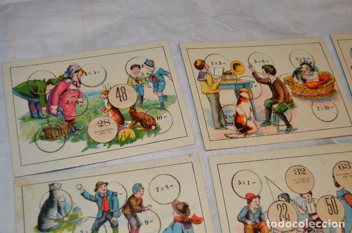 Juegos educativos: ANTIGUO Y VINTAGE - años 30 / 40 - JUEGO DE MESA - LUSTIGES EINMALEINS - MADE IN GERMANY - HAZ OFERT - Foto 3 - 119229631