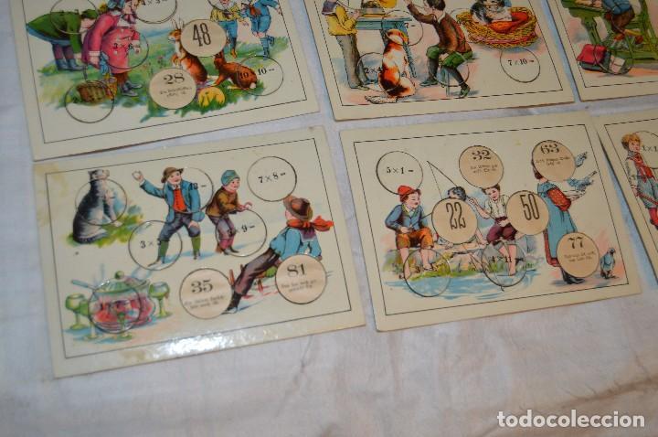 Juegos educativos: ANTIGUO Y VINTAGE - años 30 / 40 - JUEGO DE MESA - LUSTIGES EINMALEINS - MADE IN GERMANY - HAZ OFERT - Foto 4 - 119229631
