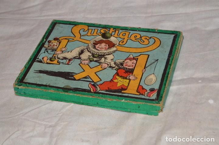 Juegos educativos: ANTIGUO Y VINTAGE - años 30 / 40 - JUEGO DE MESA - LUSTIGES EINMALEINS - MADE IN GERMANY - HAZ OFERT - Foto 10 - 119229631
