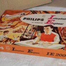 Juegos educativos: PHILIPS INTERPHONE ENGINEER 2000 - ALL TRANSISTOR - CAJA JUEGO EDUCATIVO - VINTAGE - HAZ OFERTA. Lote 119230371