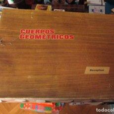 Juegos educativos: FIGURAS GEOMETRICAS JUEGO DIDACTICO VER FOTOS. Lote 120187231