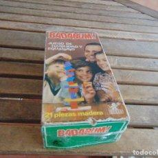 Juegos educativos: JUEGO DE HABILIDAD Y EQUILIBRIO DE BORRAS. Lote 121708155