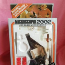 Juegos educativos: MICROSCOPIO 2002. Lote 121872388