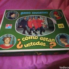 Juegos educativos: COMO ESTAN USTEDES JUEGO EDUCATIVO. Lote 122030795