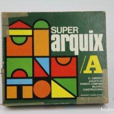 Juegos educativos: ANTIGUO PUZLE / ROMPECABEZAS DE MADERA - SUPER ARQUIX A / REF. SAX-A - JUGUETES KORIS, GERONA. Lote 122063491