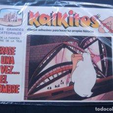 Juegos educativos: KALKITOS / ERASE UNA VEZ EL HOMBRE Nº 9 / LAS GRANDES CATEDRALES / PRECINTADO / AÑO 1979. Lote 134203375