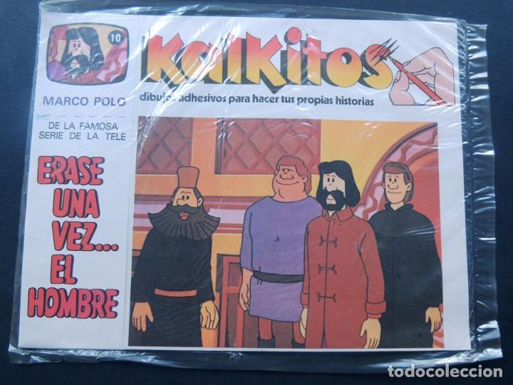 KALKITOS / ERASE UNA VEZ EL HOMBRE Nº 10 / MARCO POLO / PRECINTADO / AÑO 1979 segunda mano