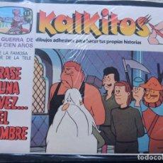 Juegos educativos: KALKITOS / ERASE UNA VEZ EL HOMBRE Nº 11 / LA GUERRA DE LOS CIEN AÑOS / PRECINTADO / AÑO 1979. Lote 133694979