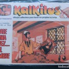 Juegos educativos: KALKITOS / ERASE UNA VEZ EL HOMBRE Nº 12 / EL QUATTROCENTO / PRECINTADO / AÑO 1979. Lote 134203529