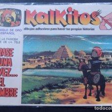 Juegos educativos: KALKITOS / ERASE UNA VEZ EL HOMBRE Nº 13 / EL SIGLO DE ORO ESPAÑOL / PRECINTADO / AÑO 1979. Lote 134203665