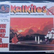 Juegos educativos: KALKITOS / ERASE UNA VEZ EL HOMBRE Nº 14 / LA INGLATERRA ISABELINA / PRECINTADO / AÑO 1979. Lote 134203743