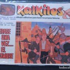 Juegos educativos: KALKITOS / ERASE UNA VEZ EL HOMBRE Nº 15 / LA EDAD DE ORO DE LOS PAISES BAJOS / AÑO 1979. Lote 142881509