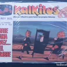 Juegos educativos: KALKITOS / ERASE UNA VEZ EL HOMBRE Nº 16 / EL REY SOL / AÑO 1979. Lote 133694962
