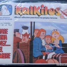 Juegos educativos: KALKITOS / ERASE UNA VEZ EL HOMBRE Nº 18 / LOS GRANDES CAMBIOS SOCIALES / AÑO 1979. Lote 134204018